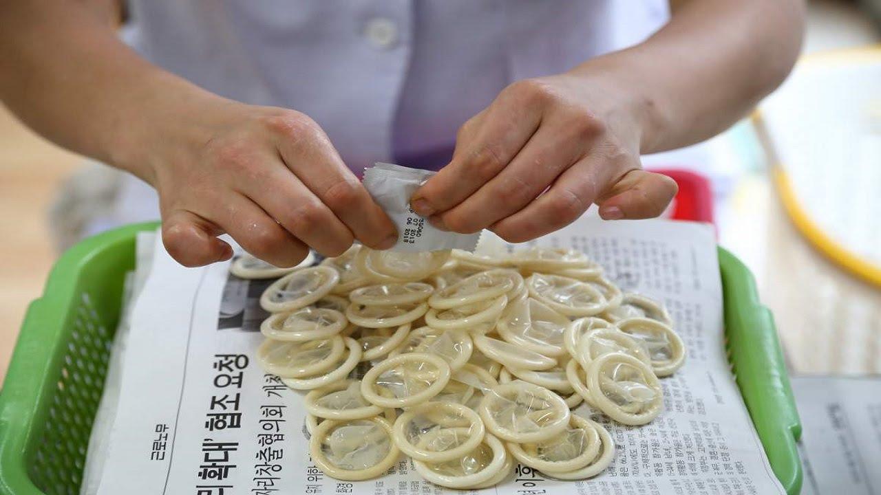 Nelegalūs prezervatyvai Šiaurės Korėjoje
