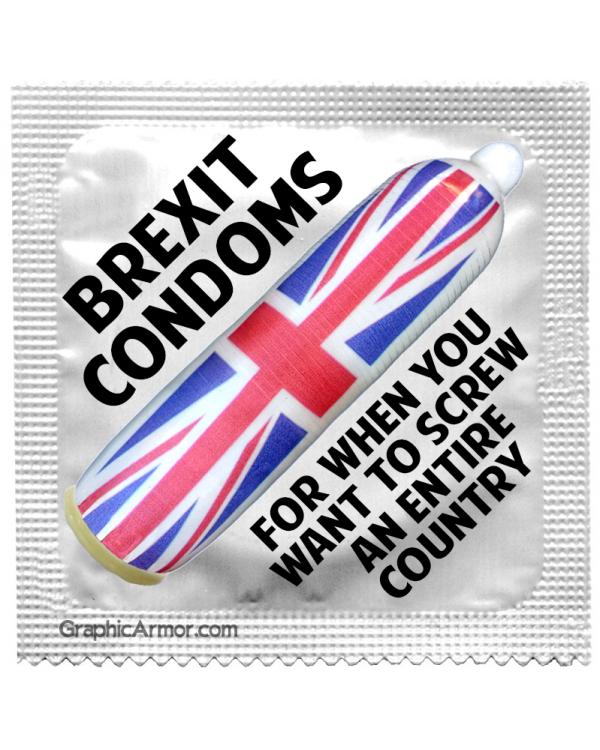 Brexit prezervatyvai