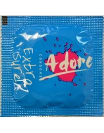 Prezervatyvai Adore Extra Sure