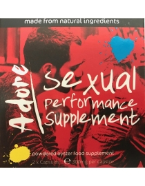 Adore Sexual Performance Supplement - 2 Kapsulės