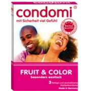 Condomi Fruit & Color