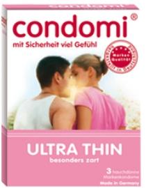 Prezervatyvai Condomi Ultra Thin