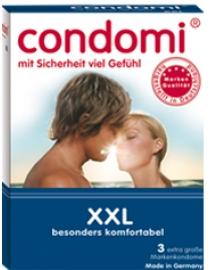 Prezervatyvai Condomi XXL
