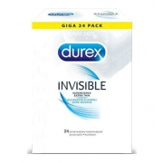 Durex Invisible 24 vnt. dėžutė
