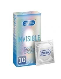 Prezervatyvai Durex Invisible XL 10vnt dėžutė