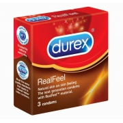 Durex Real Feel 3 vnt.