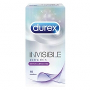 Durex Invisible EXtra lube 10vnt.