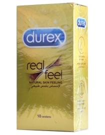 Prezervatyvai Durex Real Feel 10 vnt. dėžutė