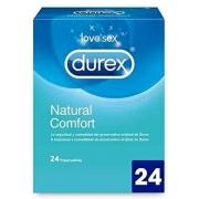 Durex Natural Plus 24 vnt. dėžutė