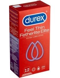Prezervatyvai Durex Elite 12 vnt. dėžutė