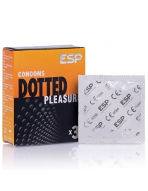 Prezervatyvai ESP Dotted Pleasure