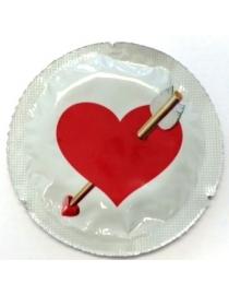 Prezervatyvai EXS Love Heart