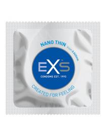 Prezervatyvai EXS Nano Thin