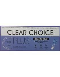 Nėštumo testai Clear Choise Plus 2vnt.