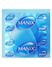 Prezervatyvai LifeStyles (Mates) Ribbed