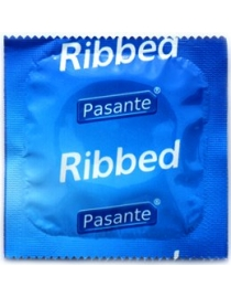 Prezervatyvai Pasante Ribbed
