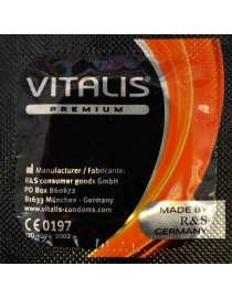 Prezervatyvai Vitalis Stimulating & Warming