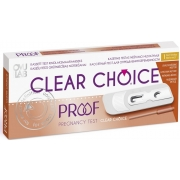 Clear Choise PROOF 1vnt.