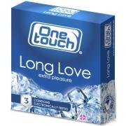 One Touch Long Love 3 vnt. dėžutė
